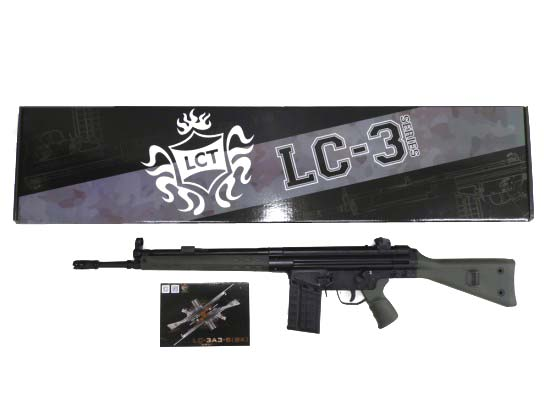 [LCT] H&K G3 LC-3A 3-S GR (中古)