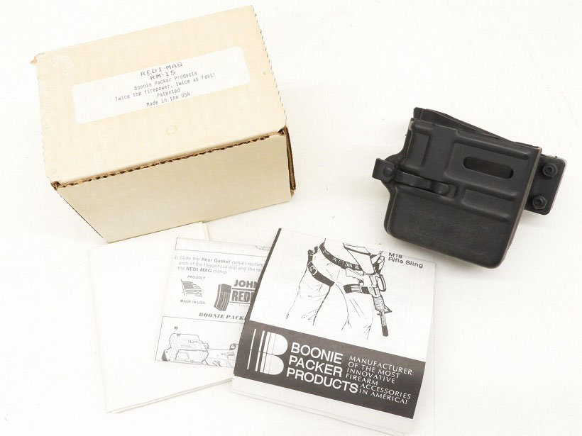 [BOONIE PACKER PRODUCTs] REDI-MAG レディーマグ マガジンホルダー 実物 (中古)