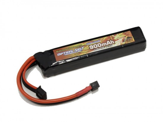 [OPTION NO.1] マッチドLiPOバッテリー HIGH POWER 11.1V 900mAh GB-0036M (新品)