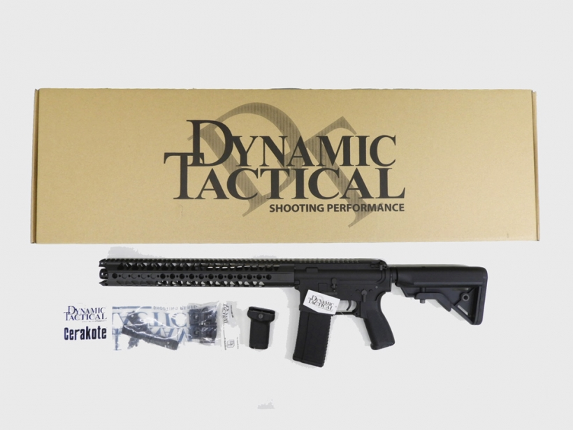 [Dynamic Tactical] LA M4 カービン BK (中古)