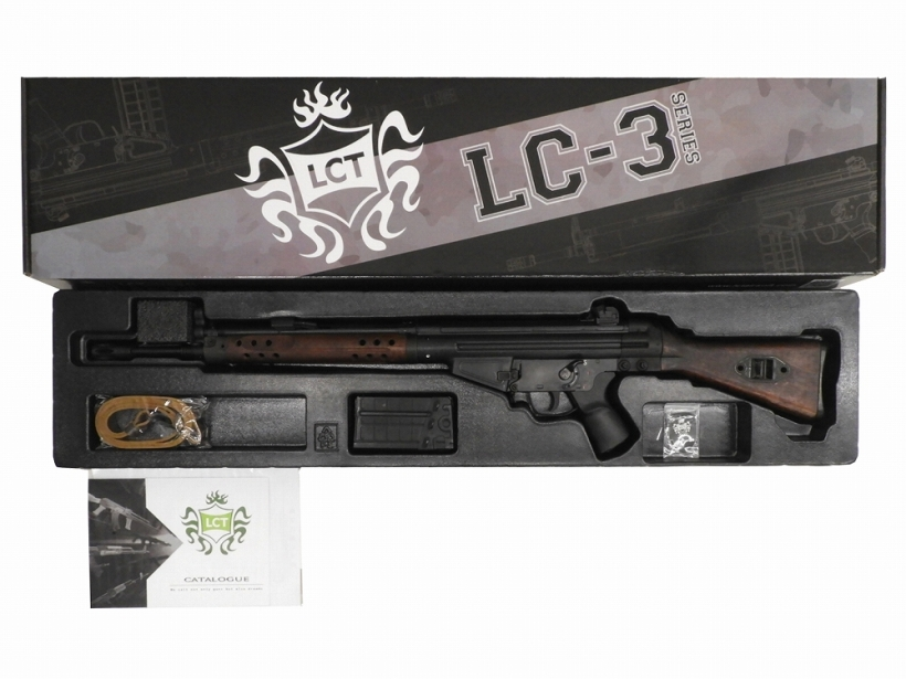 [LCT] H&K G3A3 LC-3 実物木製ストックver 限定生産品 東京マルイ製チャンバーパッキンカスタム (中古)