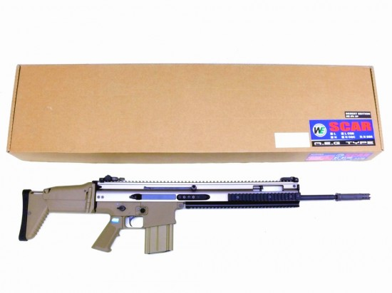[WE] SCAR-H SSR TAN (中古)