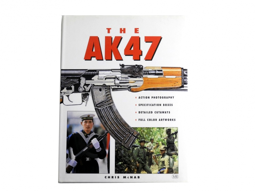 [MBI] THE AK-47 CHRIS McNAB ハードカバー (中古)