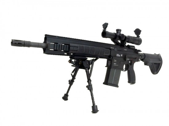 [VFC/UMAREX] HK417 16/20in GBBR CNC Super DX ver. ノーベルアームズ12424IR付き (中古)