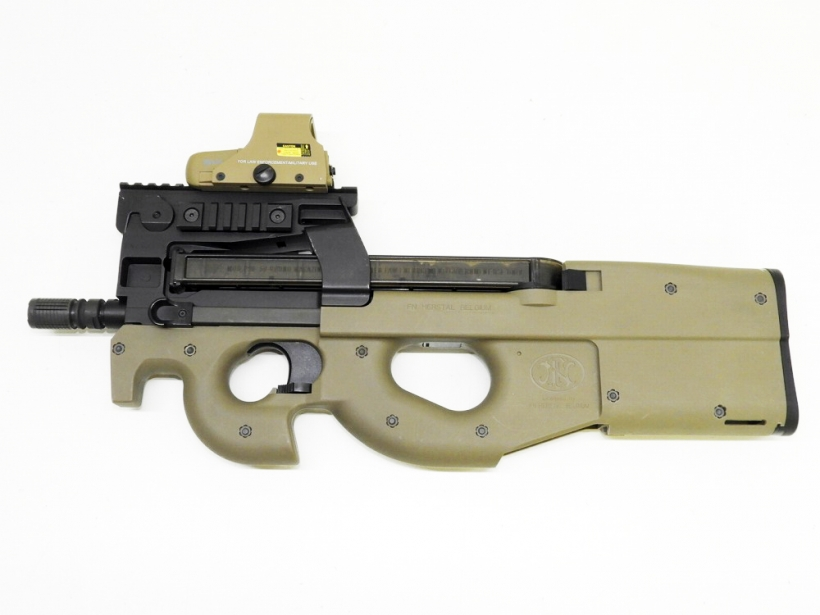 [King Arms] FN P90 Tactical TAN ダットサイト付 (中古)