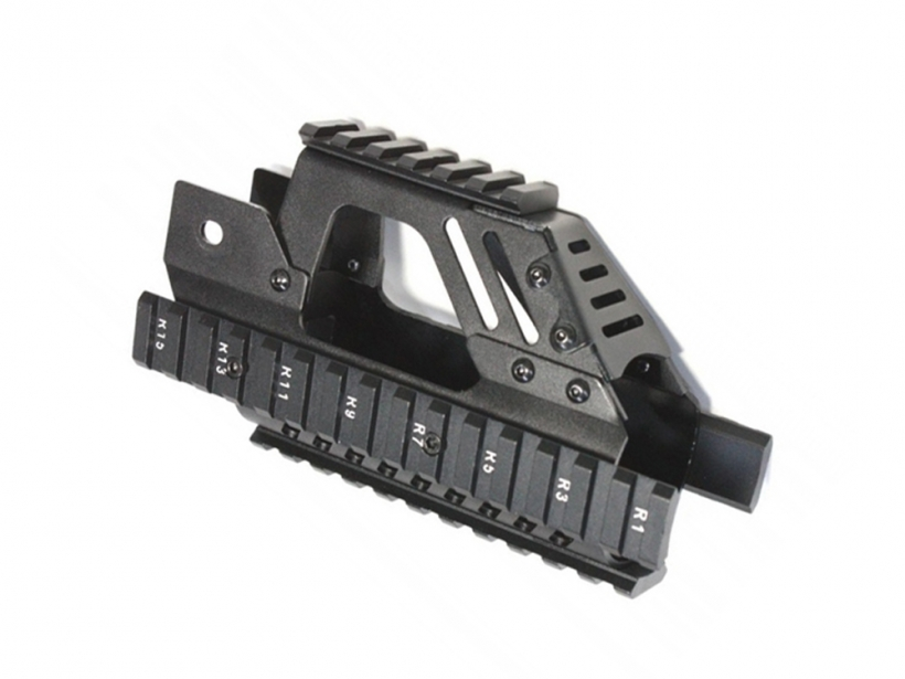 [S&T] P90用 Tactical rail Black (新品取寄)