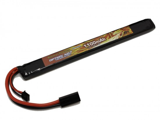 [OPTION NO.1] マッチドLiPOバッテリー BIG POWER 7.4V 1100mAh GB-0026M (新品)