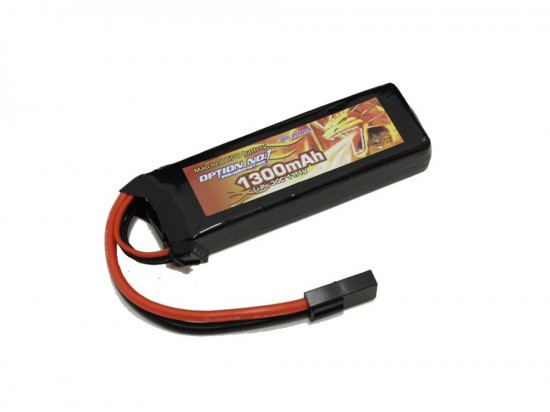 [OPTION NO.1] マッチドLiPOバッテリー BIG POWER 11.1V 1300mAh GB-0029M (新品)