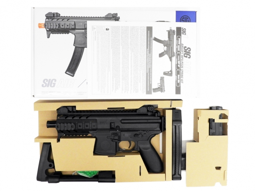 [laylax] SIG AIR/SIG1 MPX/P226 PDW and Pistol Kit エアーコッキングガン (中古)