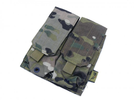 [FLYYE] MOLLE Double M4/M16 Magazine Pouch MC (中古)