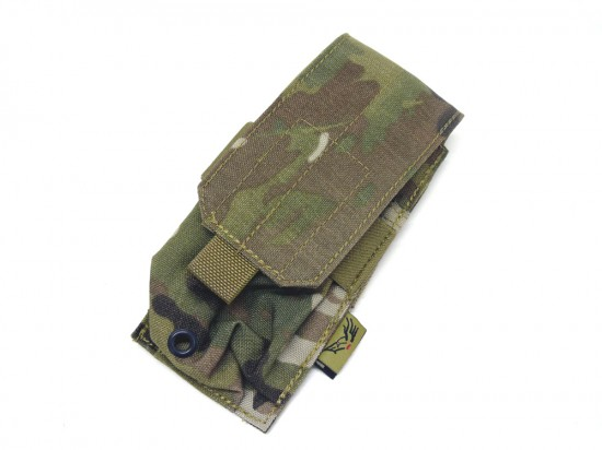 [FLYYE] MOLLE Single M4/M16 Magazine Pouch MC (中古)