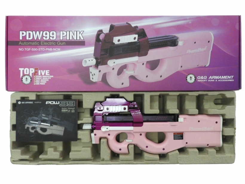 [G&G] PS90 / PDW99PINK -Femme Fatale- (ジャンク)